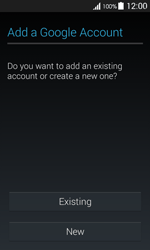 Samsung G357 Galaxy Ace 4 - Applications - Create an account - Step 4
