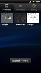 Sony Ericsson Xperia Play - Internet - Internet browsing - Step 9