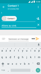Wiko Rainbow Lite 4G - Contact, Appels, SMS/MMS - Envoyer un MMS - Étape 10