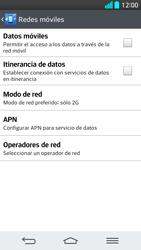 LG G2 - Red - Seleccionar el tipo de red - Paso 8