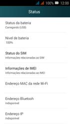 Huawei Y3 - Primeiros passos - Como encontrar o número de IMEI do seu aparelho - Etapa 5