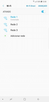 Samsung Galaxy Note 8 - Wi-Fi - Como ligar a uma rede Wi-Fi -  9