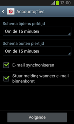 Samsung I9105P Galaxy S II Plus - E-mail - e-mail instellen: POP3 - Stap 15
