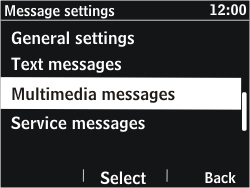 Nokia Asha 302 - MMS - Automatic configuration - Step 9
