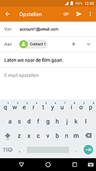 Crosscall Action X3 - E-mail - e-mail versturen - Stap 7