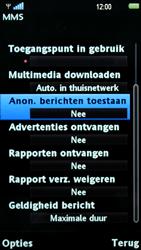 Sony Ericsson U5i Vivaz - MMS - probleem met ontvangen - Stap 10