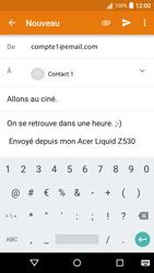Acer Liquid Z530 - E-mail - envoyer un e-mail - Étape 8
