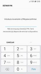 Samsung Galaxy A3 (2016) - Android Nougat - Segurança - Como ativar o código de bloqueio do ecrã -  9
