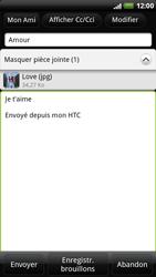 HTC X515m EVO 3D - E-mail - envoyer un e-mail - Étape 10