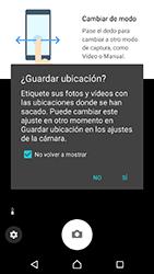 Sony Xperia XZ - Android Nougat - Funciones básicas - Uso de la camára - Paso 4