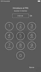 Apple iPhone 6s iOS 9 - Primeros pasos - Activar el equipo - Paso 5