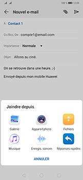 Huawei Mate 20 Pro - E-mail - envoyer un e-mail - Étape 9