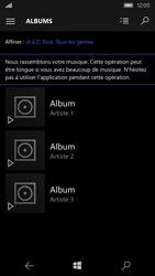 Microsoft Lumia 550 - Photos, vidéos, musique - Ecouter de la musique - Étape 5