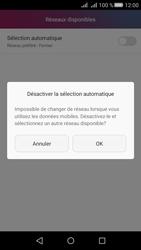 Huawei Huawei Y5 II - Réseau - Sélection manuelle du réseau - Étape 7