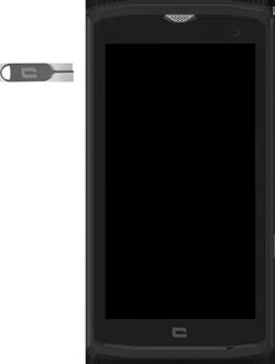 Crosscall Core X3 - Premiers pas - Insérer la carte SIM - Étape 2