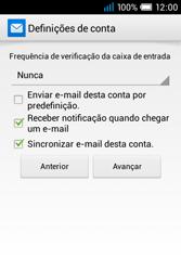 Alcatel POP C1 - Email - Configurar a conta de Email -  18