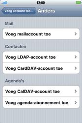 Apple iPhone 3G S - E-mail - Handmatig instellen - Stap 7