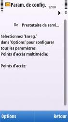 Nokia C5-03 - MMS - configuration automatique - Étape 8