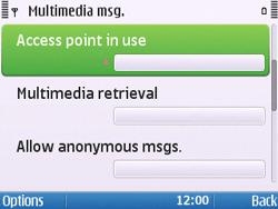 Nokia E5-00 - Mms - Manual configuration - Step 20