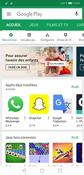 Huawei Mate 20 - Applications - comment vérifier si des mises à jour sont disponibles pour l'appli - Étape 3