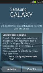 Samsung I8190 Galaxy S III Mini - Primeiros passos - Como ativar seu aparelho - Etapa 18