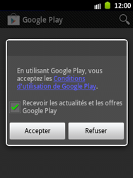 Samsung S5300 Galaxy Pocket - Applications - Télécharger des applications - Étape 15