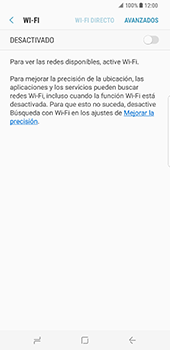 Samsung Galaxy S8 Plus - WiFi - Conectarse a una red WiFi - Paso 6