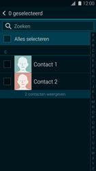 Samsung G900F Galaxy S5 - Contactgegevens overzetten - delen via Bluetooth - Stap 6