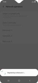 Samsung Galaxy A20e - Network - Manually select a network - Step 13