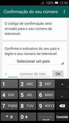 Alcatel Pixi 3 - Aplicações - Como configurar o WhatsApp -  6