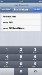 Apple iPhone 5 - Basisfunktionen - SIM-PIN aktivieren und ändern - Schritt 10