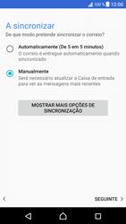 Sony Xperia XZ - Android Nougat - Email - Configurar a conta de Email -  21