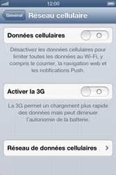 Apple iPhone 4 S iOS 6 - Internet - Configuration manuelle - Étape 5