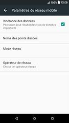 HTC Desire 650 - Aller plus loin - Désactiver les données à l'étranger - Étape 5