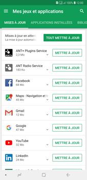 Samsung Galaxy A7 (2018) - Applications - comment vérifier si des mises à jour sont disponibles pour l'appli - Étape 6