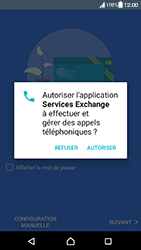 Sony Xperia XA (F3111) - Android Nougat - E-mail - Configuration manuelle (outlook) - Étape 10