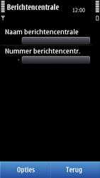 Nokia C7-00 - SMS - handmatig instellen - Stap 8