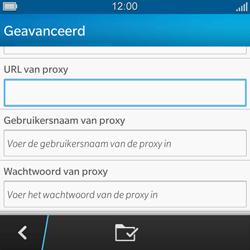 BlackBerry Q5 - MMS - handmatig instellen - Stap 11