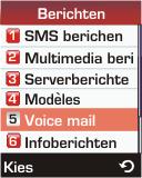 Samsung E330 - Voicemail - handmatig instellen - Stap 5