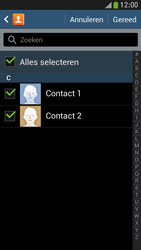 Samsung I9195 Galaxy S IV Mini LTE - Contactgegevens overzetten - delen via Bluetooth - Stap 8