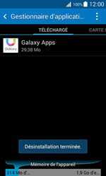 Samsung Galaxy Trend 2 Lite - Applications - Supprimer une application - Étape 8