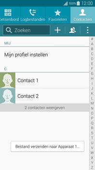 Samsung N910F Galaxy Note 4 - Contactgegevens overzetten - delen via Bluetooth - Stap 11