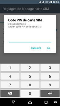 Sony Xperia L1 - Sécuriser votre mobile - Personnaliser le code PIN de votre carte SIM - Étape 8