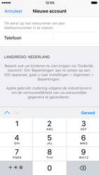Apple iPhone 6 (iOS 10) - apps - account instellen - stap 23