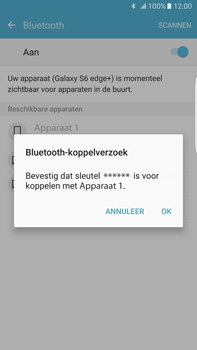 Samsung Samsung Galaxy S6 Edge+ - Android M - Bluetooth - koppelen met ander apparaat - Stap 9