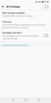 LG V30 (LG-H930) - WiFi - Mobiele hotspot instellen - Stap 6