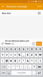 Samsung Galaxy S6 Edge - Contact, Appels, SMS/MMS - Envoyer un SMS - Étape 11