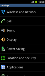 Samsung I8160 Galaxy Ace II - Voicemail - Manual configuration - Step 4