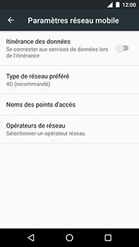 Motorola Moto E4 Plus - Internet et connexion - Activer la 4G - Étape 8