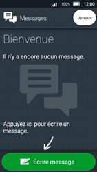 Doro 8031 - Contact, Appels, SMS/MMS - Envoyer un SMS - Étape 5